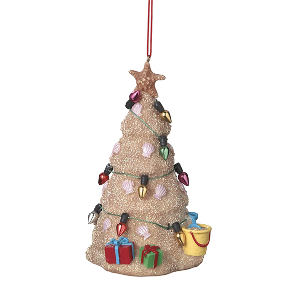 Sand Christmas Tree Ornament
