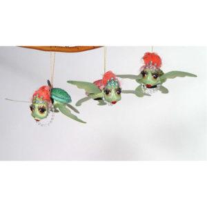 Sea Turtles Christmas Ornament