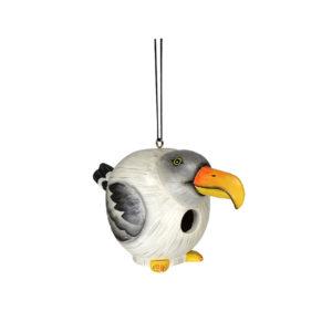 Seagull Shaped Birdhouse