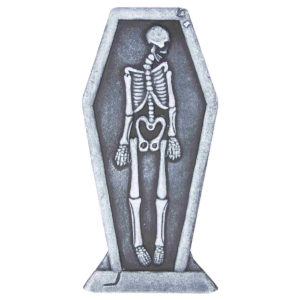 Skeleton Halloween Tombstone Lawn Decoration