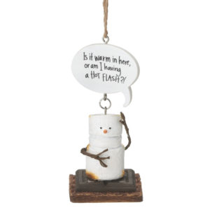 S'mores Hot Flash Ornament