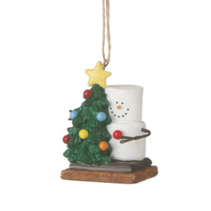 S'mores with Tree Ornament