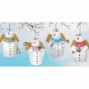Snow Angel Bell Ornament