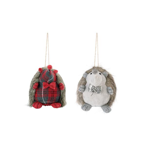 Soft Hedgehog Ornaments