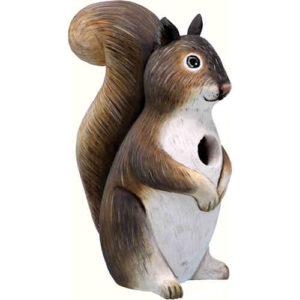 Squirrel Shaped birdhouse