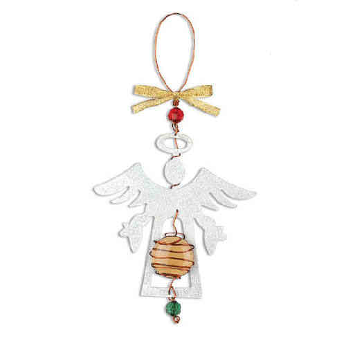 Standing Angel Ornament