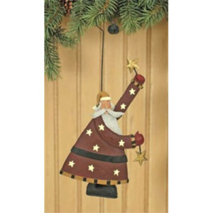 Starry Santa Christmas OrnamentStarry Santa Christmas Ornament