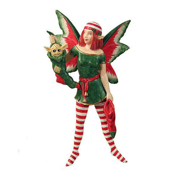 Stocking Fairy Christmas Ornament