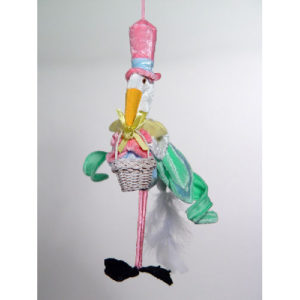 Stork Delivery Christmas Ornament