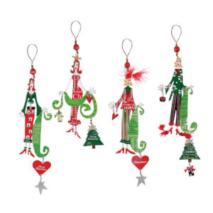 Stylish Christmas Queens Ornaments