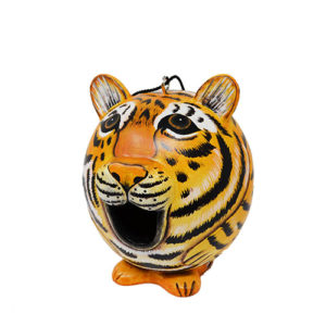 Tiger Shaped Birdhouse