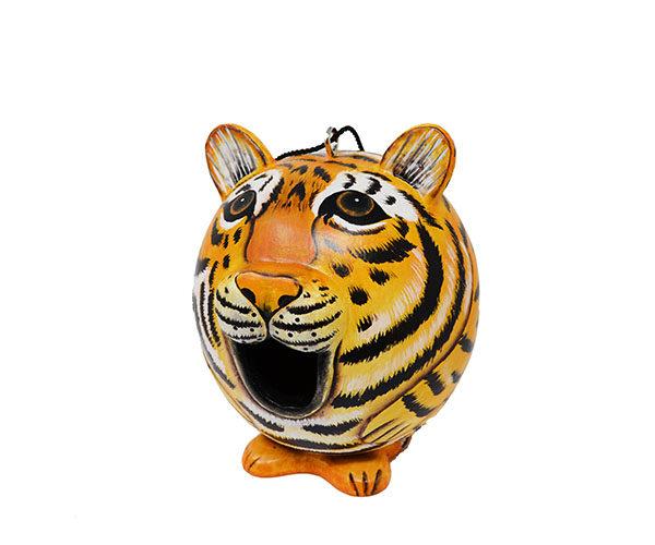 Tiger Shaped Birdhouse