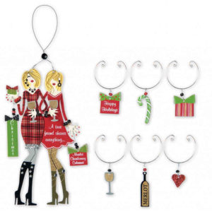 True Friend Ornament and Wine Charms