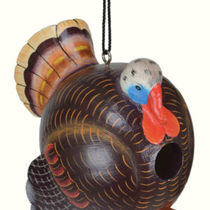 Turkey Shaped Birdhouse