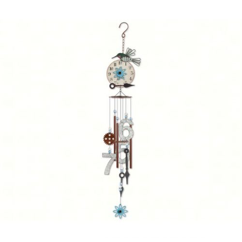 Vintage Hummingbird Wind Chime