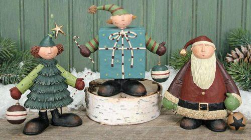 Christmas Kids Figurines