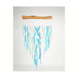 Blue and white Waterfall Wind Chimes