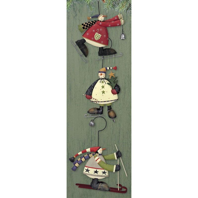 Williraye Snowmen Ornaments - Retired - Happy Holidayware