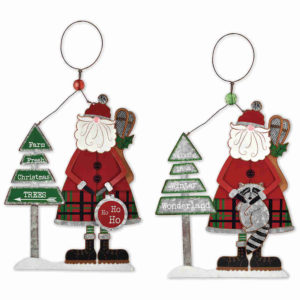 Winter Snowman Ornaments