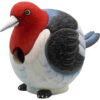 Red Headed Woodpecker Shaped Birdhouse