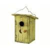 Birdie Loo Yellow Outhouse Birdhouse